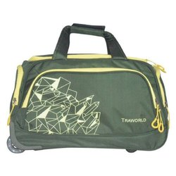 Traworld Green 20 Inch Duffel Bags, For Travel