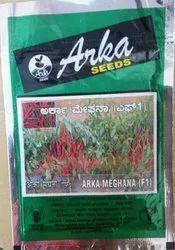 Arka Meghana F1 Hybrid Chilli Seed, Packaging Type: Packet, Packaging Size: 10 Gram