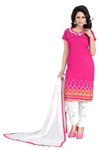 34b3b31c76 Multicolor Printed Cotton Salwar Suit Dress Material, Rs 250 /piece ...