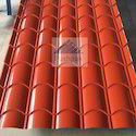 Steel / Stainless Steel Mandarin Roofing Tile Sheet