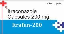 Itraconazole Capsules 200 mg