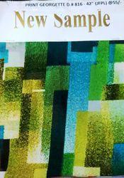 Print Georgette D No 816 Jfpl Fabric