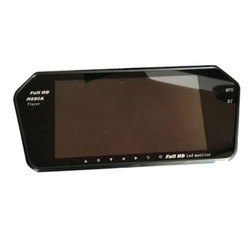 Abs Plastic And Glass Full HD Car LCD Monitor, Monitor Size: 7 Inch