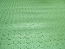 Circular Studded Rubber Flooring