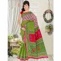Ladies Casual Printed Cotton Saree
