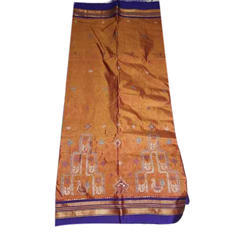 Fancy Cotton Saree, with Blouse Piece