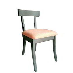 Short Back Wooden Chair