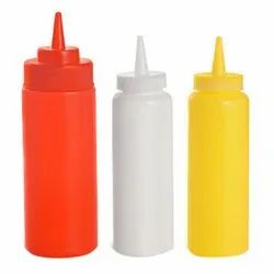 36oz - 1000ml Squeeze Bottle, Yellow/White/Red