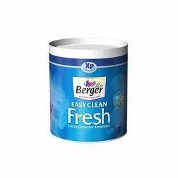 Berger Easy Clean Fresh Paint, Packaging Type: Bucket
