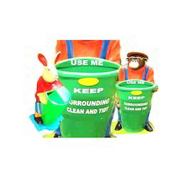 Animal FRP Dustbin