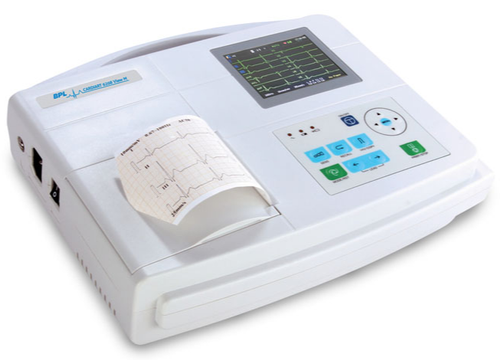 BPL Cardiart 6208 View 3 Channel ECG Machine