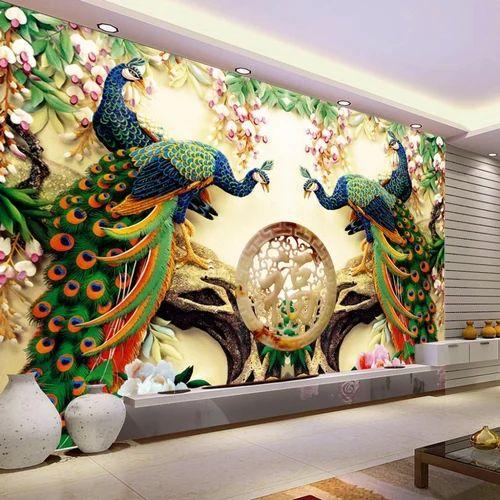 Pvc Customized Wallpaper Rs 149 Square Feet Kvm Rhombus Enterprises Private Limited Id 14951509162