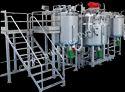 Motor and Engine Oil Blending Plant
