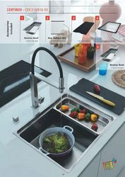 Sink Centinox Black Finish Franke