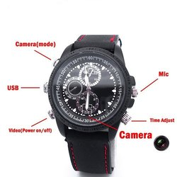 Safetynet 32GB Hidden Spy Watch Camera
