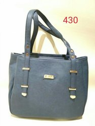 Hand bag & Hand handled Pu Leather Handbags, For College & Office