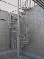 Stainless Steel Spiral Staircase, Material Grade: Ss 304