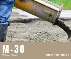 M-30  Without Fly Ash Ready Mix Concrete