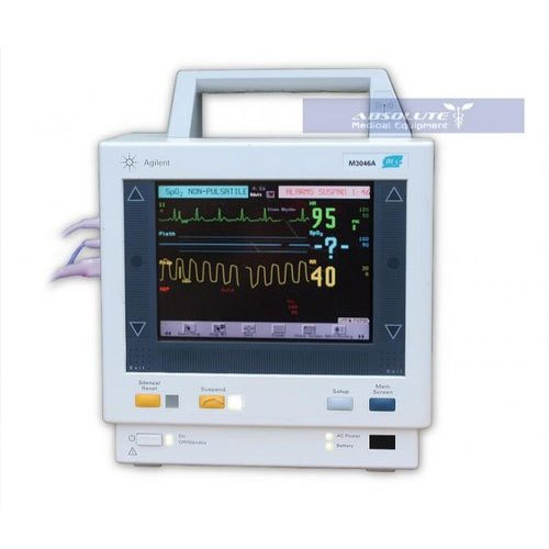 Electricity LED Philips M3/M4 Refurbished Patient Monitor
