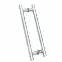 GLASS DOOR HANDLES- H Shape Dotted Glass Door Handle