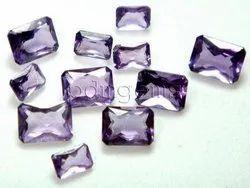 Amethyst Faceted Gemstone