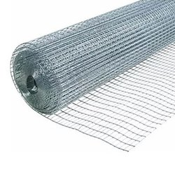 SS304 Silver Stainless Steel Wire Mesh, For Fencing, Thickness: 1.5 Mm
