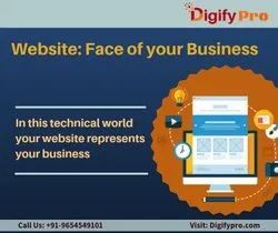 English Corporate Website Designing Service, Delhi/Ghaziabad/Noida