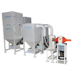 Enclosed Fuel Tank Buffing Machine for Automobile Industries