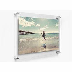 Acrylic Sandwich Photo Frame