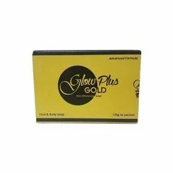 Solid Glutathione Glow Plus Gold Skin Whitening Soap for Skin Whitening