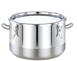 Stainless Steel High Cook Pot With Lock