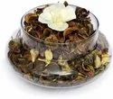 Transparent Polished Glass Potpourri, Size: 6inch, 8inch And 12inch