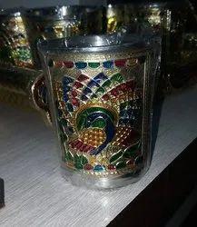Meenakari Glass For Return Gift