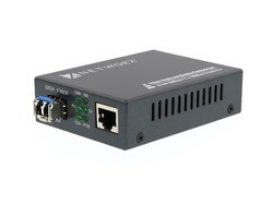 10/100/1000Base Gigabit Single-Mode Fiber Converter