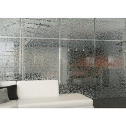 Etched Pattern Glass, Size: 6 x 8 Feet