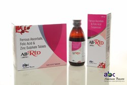 AB- Red Tablet /Syrup ( Iron Tablet & Iron Syrup )