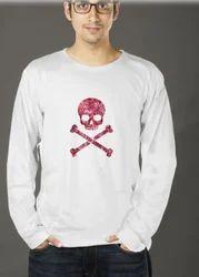 Men Printed Full Sleeve T Shirt