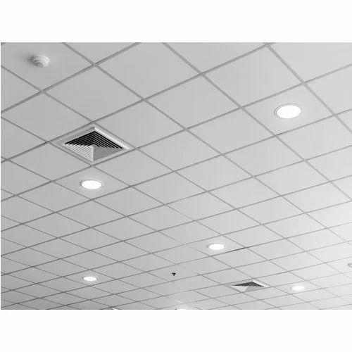 PVC Designer Grid Ceiling, Thickness: 2 mm
