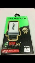 BM Gold 3.1 AMP Dual USB Adapter Mobile Charger