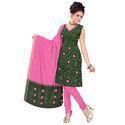 Green Bandhani Designer Suit