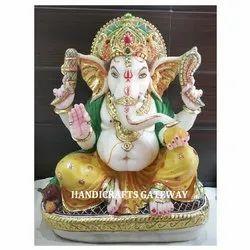 Stone Ganesh Murti