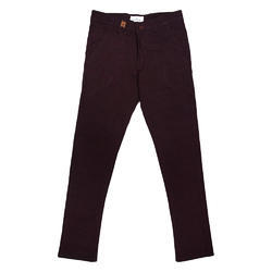 Chinos Red Wine Trousers
