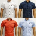 Half Sleeve Men Shirts
