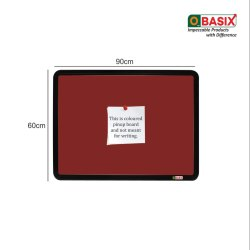 OBASIX SPBMPCB6090 Pin-up Maroon (Notice Board) 2x3 Feet