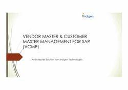 Vendor Customer Master Portal for SAP