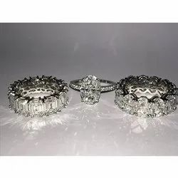 Piecut Diamond Rings