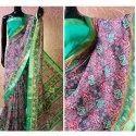 Printed Ladies Fancy Bandhani Silk Saree, 6 M (with Blouse Piece)