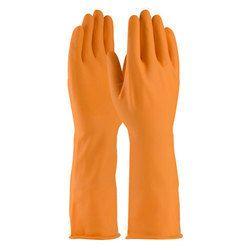Orange Electrical Shock Resistant Gloves, Size: S & M