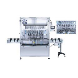 8 Head Oil Filling Machine / Hand Sanitizer Filling Machine