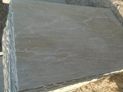 Gray Natural Bijoliya Sandstone, For Flooring, Thickness: 18 To 60mm
